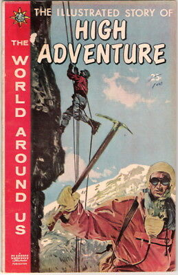 The World Around Us Comic #27, The Illustrated Story of High Adventure 1960 FINE