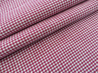 """Country  Check Gingham Duvet Cover  Blanket Coverlet  Bordeaux Red 51"""" by72"""""""
