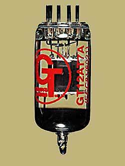 Groove Tubes GT-12AT7 Preamp Tube (ECC81) (Guitar Amp Valve)