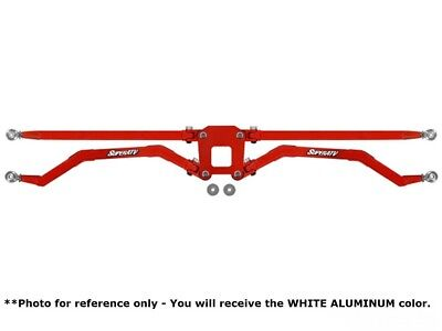 Polaris RZR 1000 High Clearance Boxed Rear Suspension Links White AL | 18mm