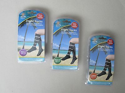 Flight Travel Unisex Socks Firm Comfortable Support