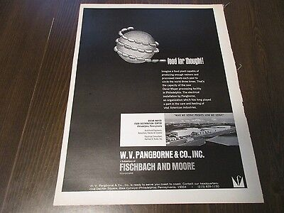 W V Pangborne and Company -  Fischbach and Moore Incorporated  1970 Print Ad