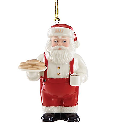 Lenox 2017 Cookies for Santa Ornament