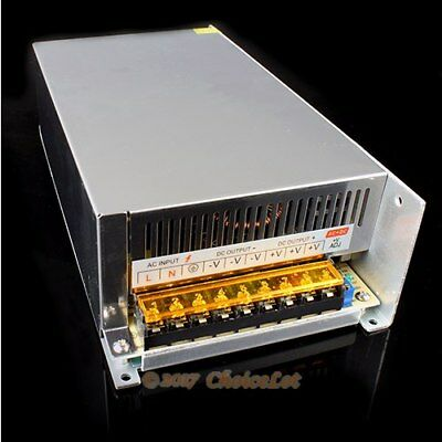 HighPower 600W 48V Power Supply For Industrial Automation LED Lighting Device