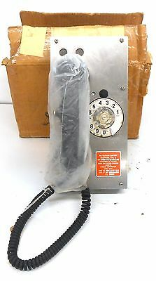 Dynalec Dial Telephone, 65019-000-1, 5805-00-093-1418, Type G