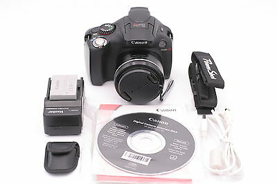 Canon PowerShot SX40 HS 12.1MP Digital Camera - Black