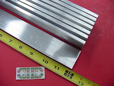 "2 pieces of 1//4/"" X 1/"" ALUMINUM 6061 FLAT BAR 20/"" long T6511 Solid New Mill Stock"