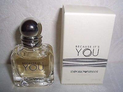 Emporio ARMANI Because it´s You MINIATUR Flakon 7 ml Eau de Parfum EDP Duft Mini