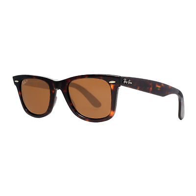 Ray Ban RB2140 902/57 50mm Tortoise Brown Polarized Square Sunglasses
