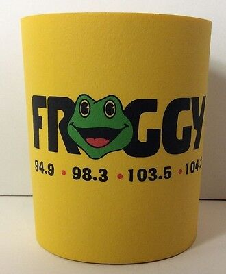 Country Music Pittsburgh 98.3 Froggy Beer Cola Cooler Coozie Koozi Promo Ad NWOT