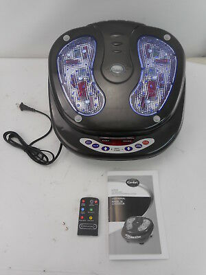 iComfort IC0906 - Infrared Vibration Foot Massager w/Remote Control - Black