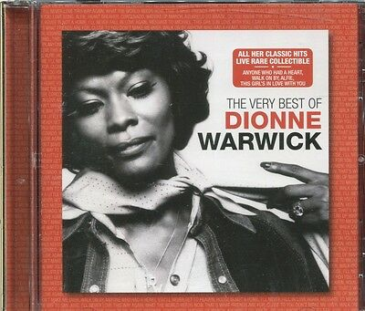 The Very Best Of Dionne Warwick - Live - Cd - New -
