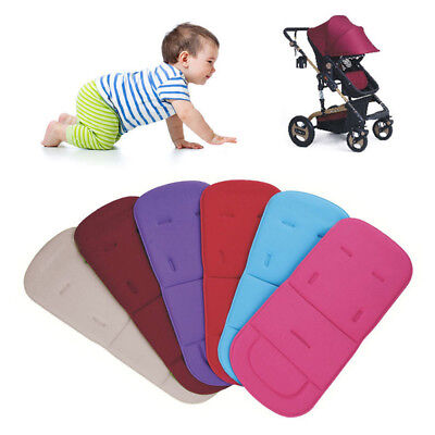 Portable Baby Stroller Pram Pushchair Liner Pad Cover Mat Car Seat Chair Cushion