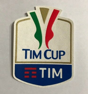 a37d51cd203 Italy TIM Cup Badge Italien 2017 2018 Logo Patch Supercup Juventus Turin  Toppa