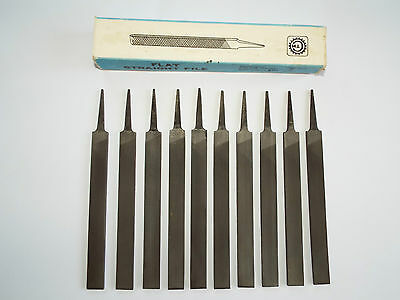 """RUSSIAN FILES- 200mm / 8"""" - FLAT,  2nd CUT - 10 Pieces - NEW"""