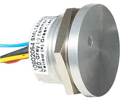 GA221628 CPS22IF-ALNA-24RG Camdenboss Switch , Piezo , 22mm , Dot LED R/G