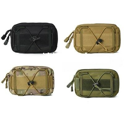 Tactical MOLLE Waist Bag Outdoor Utility Tools Bag Phone Pouch for Belt /Vest