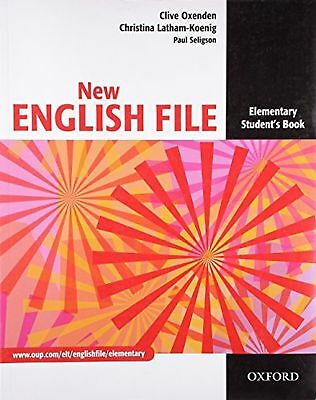 New English File: Elementary: Student's Book: Six-level general Engl... NEW BOOK