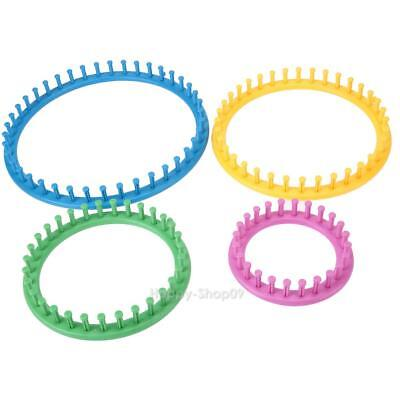 4 Size Classical Round Circle Hat Knitter Knitting Knit Loom Kit 1 v#h9