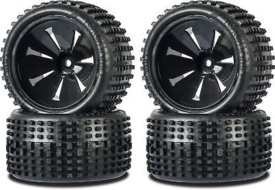 Carson 1:10 Reifen Monster OFF-Road Wheel Set Big PIN f. Tamiya-Carson 500900139