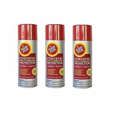 Fluid Film Spray Value Pack 11 3/4 oz Aerosol Can- 3 Pack