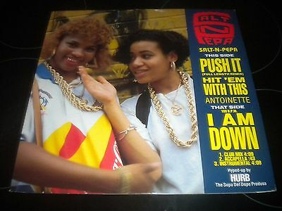 "Salt-n-Pepa - Push It - Antoinette - Vinyl Record 12"" Single - 1988 - FFRX 2"