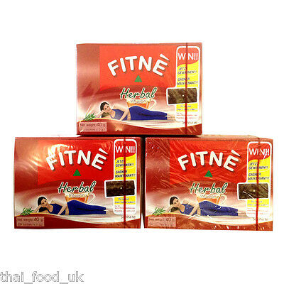 Three Packs Of Fitne Original Herbal Infusion Slimming Tea