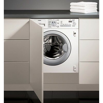AEG L61470WDBI Fully Integrated 1400 Spin 7kg All in One Condenser Washer Dryer