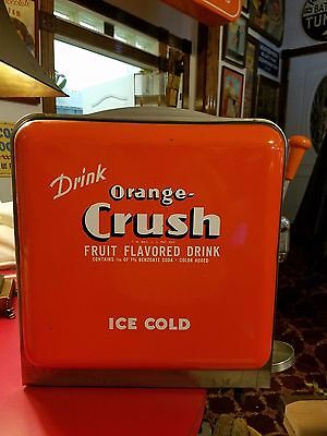 1930's ORANGE CRUSH SYRUP DISPENSER