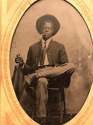 1890s-1920s AFRICAN AMERICAN FAMILY PHOTO ALBUM Tintype Cabinet Card Photographs