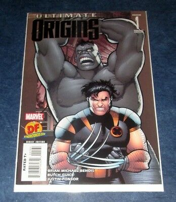 ULTIMATE ORIGINS #1 DF variant exclusive WOLVERINE vs HULK MARVEL2008 no coa NM