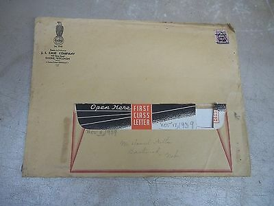 1939 Case Letter & Brochure in Mailer