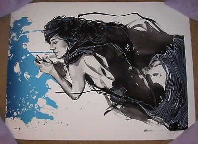 BRANDON BOYD of Incubus art poster print THIS WAY COMES signed /150