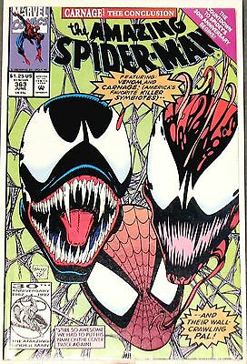 The Amazing Spider-Man #363 (Jun 1992, Marvel) NM 1st Print 3rd app Carnage