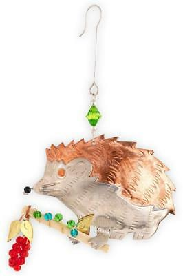Hedgehog Ornament NWT Fair Trade Handmade Thailand Pilgrim Imports