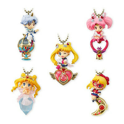 Sailor Moon Twinkle Dolly Vol.4 Sailor Moon V Princess Serenity set of 5 Bandai