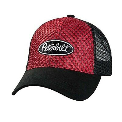 OSFM peterbilt fitted hat trucker driver ball cap mesh back flex fit stretch cat