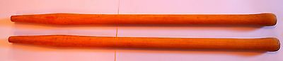 """2 X BRUSH HOOK HANDLES  900mm / 36"""" - MOUNTAIN ASH - Replacement tools"""