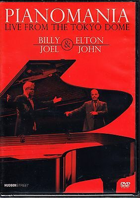 Pianomania Live Elton John / Billy Joel - Live From The Tokyo Dome 1998 Dvd