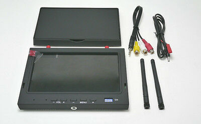 Skyzone FPV 5.8GHz Diversity 7-inch LCD Monitor Receiver with Folding Sunshade