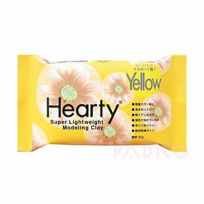 Katy Sue Hearty Soft Yellow Air Drying Modeling Paper Craft Clay - 50g Pack