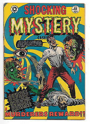 Shocking Mystery Cases #51 Fine- 5.5 Great LB Cole Cover!