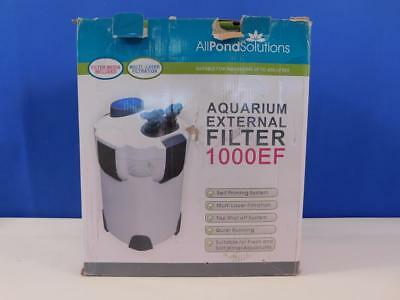 All Pond Solutions 1000EF Aquarium Außenfilter Filter Aquariumfilter 1000 l/h