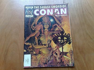 Savage Sword Of Conan The Barbarian #114 Marvel Comics July 1985 U.s. Mag. Fine