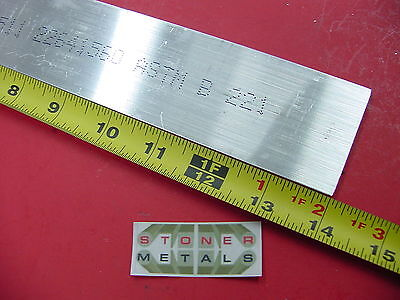 "3/16"" X 2"" ALUMINUM 6061 T6511 FLAT BAR 14"" long .187""x 2"" Mill Stock"