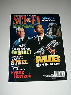 SCI FI ENTERTAINMENT Magazine August 1997 Men In Black Contact Steel Spawn