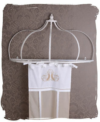 Canopy Four Poster Bed Crown Bed Crown Shabby Chic Decorative Crown Canopy