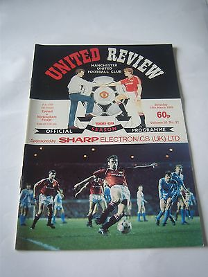 MANCHESTER UNITED v NOTTINGHAM FOREST 1988/89 - FA CUP 6TH ROUND - VOL50 #20
