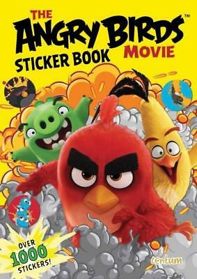 NEW Angry Birds 1000 Sticker Book By  Centum Books Paperback Free Shipping