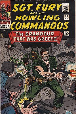 1966 Marvel Comics Sgt. Fury & Howling Commandos #33 AB